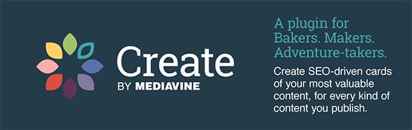 Create by Mediavine Wordpress banner